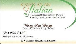 Kissed By An Italian - Mary Ann Brody