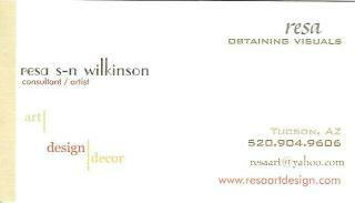 Resa Wilkinson - Art - Design - Decor