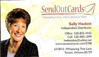 Send Out Cards - Sally Haslett