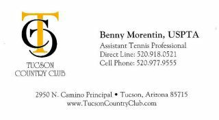 Benny Morentin - Tucson Country Club