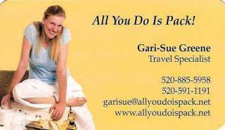 Gari-Sue Green - All You Do Is Pack